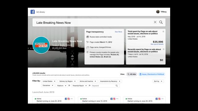 Facebook sẽ gắn thẻ phương tiện do nhà nước kiểm soát trên mạng xã hội 2