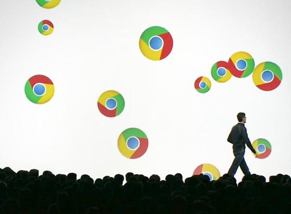 Google Chrome: Zmena umiestnenia preberania 1