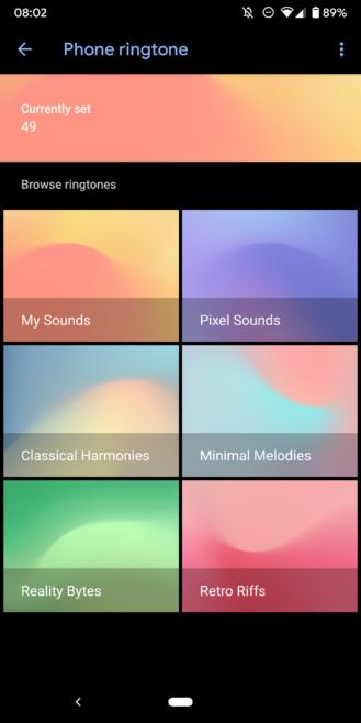 Zvuky Google pre pixely dostanú temný režim a umožňujú vám manuálne pridávať zvonenia [APK Download] 1