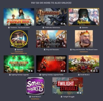 Humble Board Games Bundle inkluderar 5 Asmodee Digital Android-spel 2
