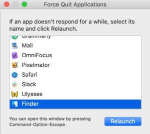 Fix-Mac Error code-43 Force Quit Finder