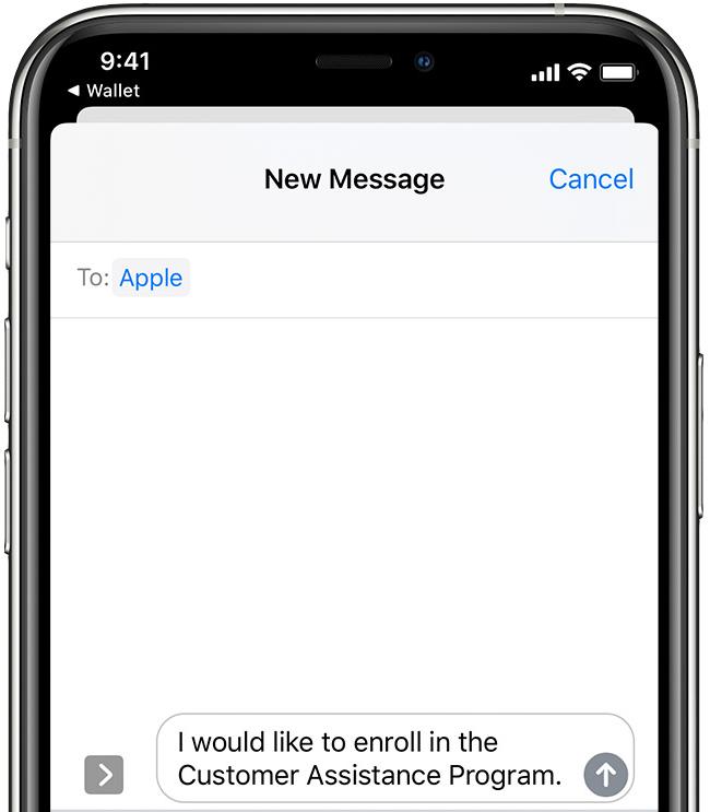Apple    Hướng dẫn chương trình hỗ trợ khách hàng COVID-19 ngắn