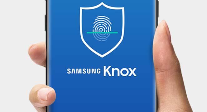 Ako prepnúť z programu Samsung Knox na zabezpečený priečinok 1