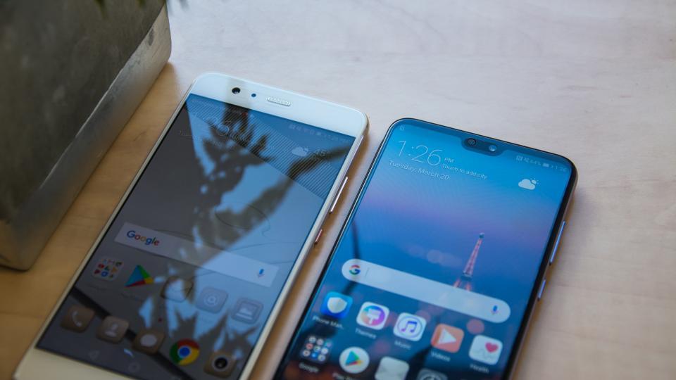 Hur man gör skärmbilder Huawei P20 / P20 Pro och P20 Lite