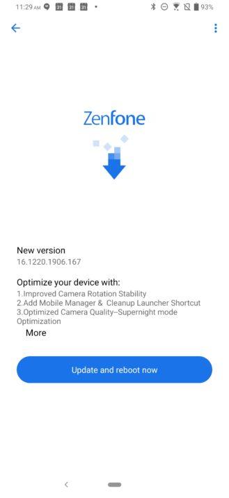 Ny uppdatering för ASUS Zenfone 6 inkluderar kameraförbättringar 1