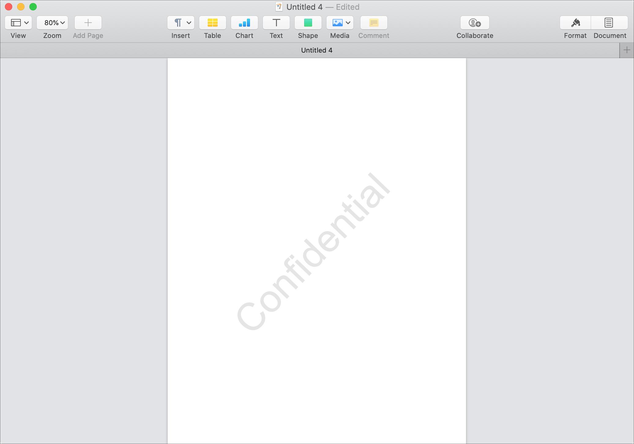 Thêm trang watermark vào Mac Bảo mật