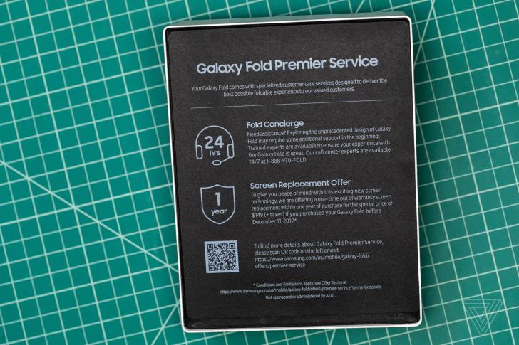 Spoločnosť Samsung nahradí váš prvý zlomený Galaxy Fold    displej za 149 dolárov 1