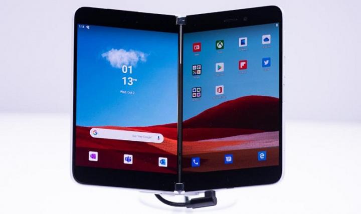 Xem những gì ứng dụng Microsoft Android có thể làm trên Surface Duo 1