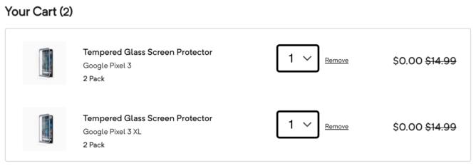 [Update: Dead] Chyba ceny: Pixel 3 a Pixel 3 Chrániče obrazovky Glass Case XL sú teraz zadarmo 1
