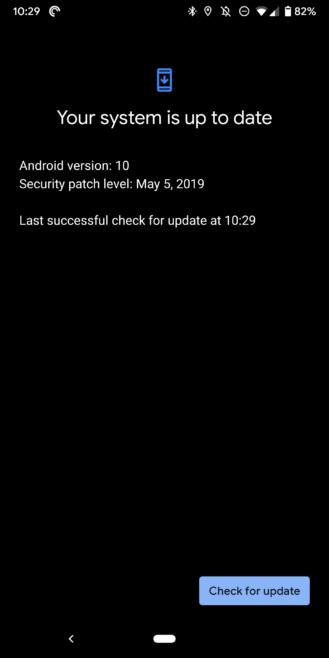 [Update: New OTA rolling out] Niektoré telefóny Pixel začínajú s Q Beta 4, ale obnovenie továrenských nastavení veci opraví 1