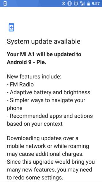 [Update x2: Rolling out globally] Xiaomi začína zavádzať Android 9 Koláč stabilný na Mi A1 viac-menej 3