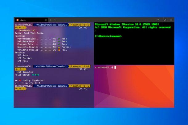 Windows Terminal cập nhật dòng lệnh cho thế kỷ 21 1