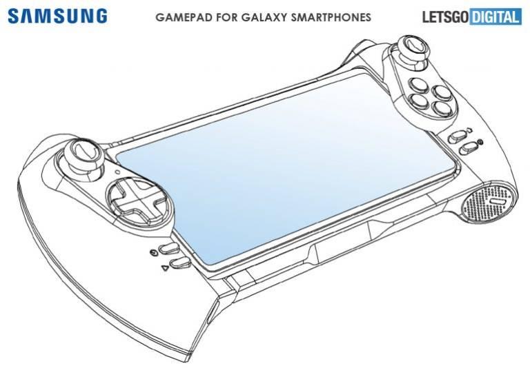 Spoločnosť Samsung môže spustiť aj gamepad smartphones: tu je patent 2