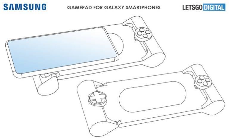 Spoločnosť Samsung môže spustiť aj gamepad smartphones: tu je patent 4