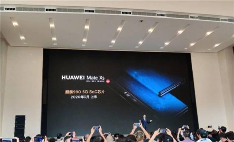 Spoločnosť Huawei Mate Xs nás stretla na konferencii MWC 2020 2