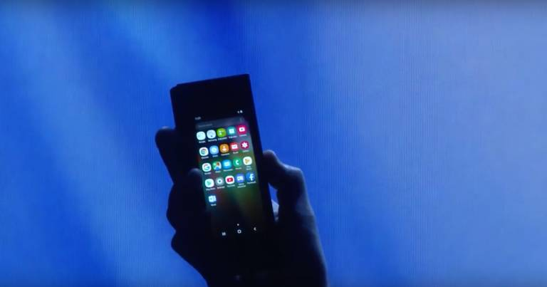 Spoločnosť Samsung bude mať skladací smartphone 512 GB Pamäť? 3