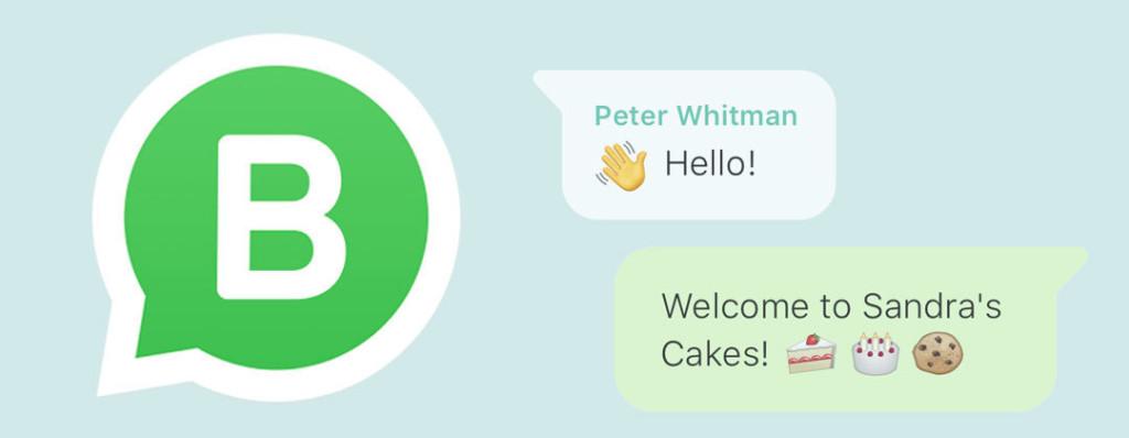WhatsApp affärsledare lg