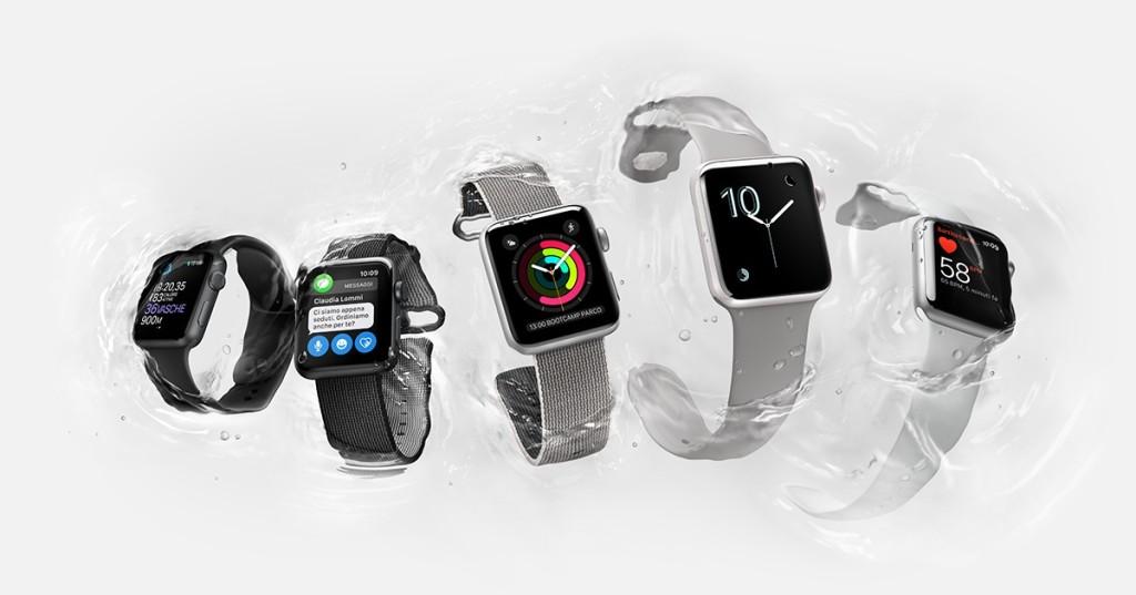 série hodiniek Apple 2