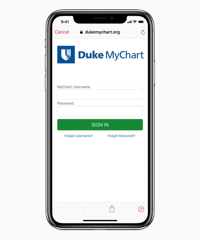 iOS 11 3 prihlasovacia obrazovka poskytovateľa zdravotnej starostlivosti 03292018