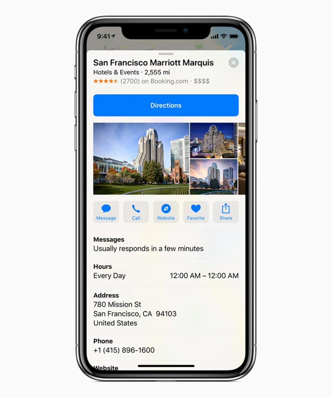 iOS 11 3 obrazovka obchodnej mapy 03292018