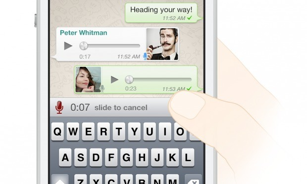 Hlasová schránka Whatsapp