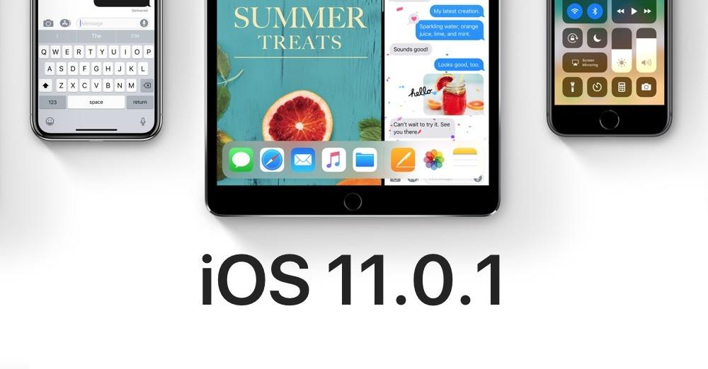 Obrazovka iPhone pre iOS 11