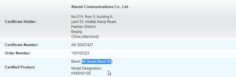 Xiaomi Mi Band 4C môže byť globálna verzia Redmi Band 2