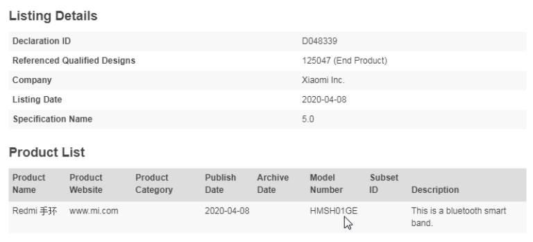 Xiaomi Mi Band 4C môže byť globálna verzia Redmi Band 3