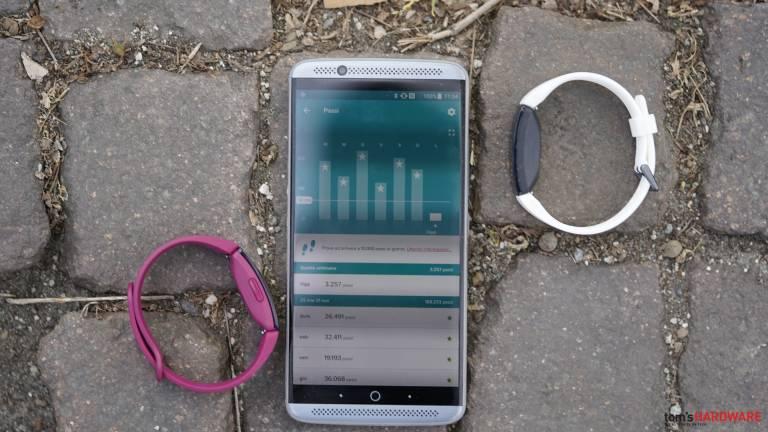 Fitbit Inspire HR a Inspire, kontrola 3