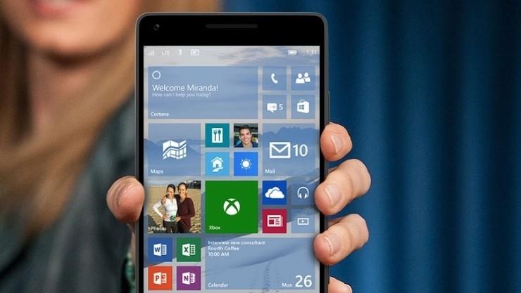 Windows    10 mobilných