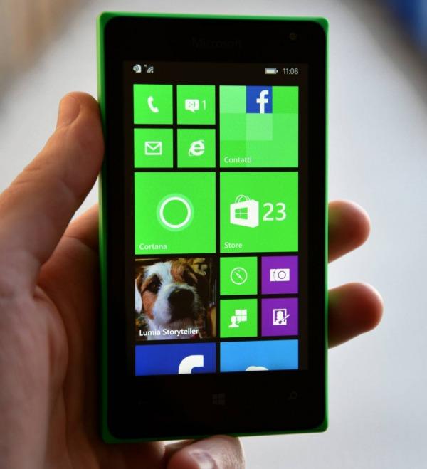 Lumia 435, Windows Telefón za menej ako 100 EUR, testovacie použitie 3