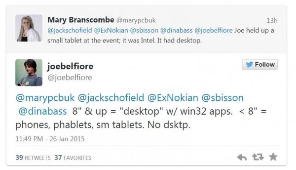 Tweet Belfiore