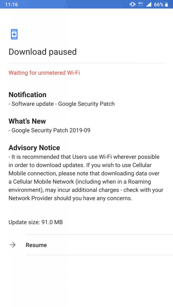 Aktualizácia zabezpečenia zo septembra 2019