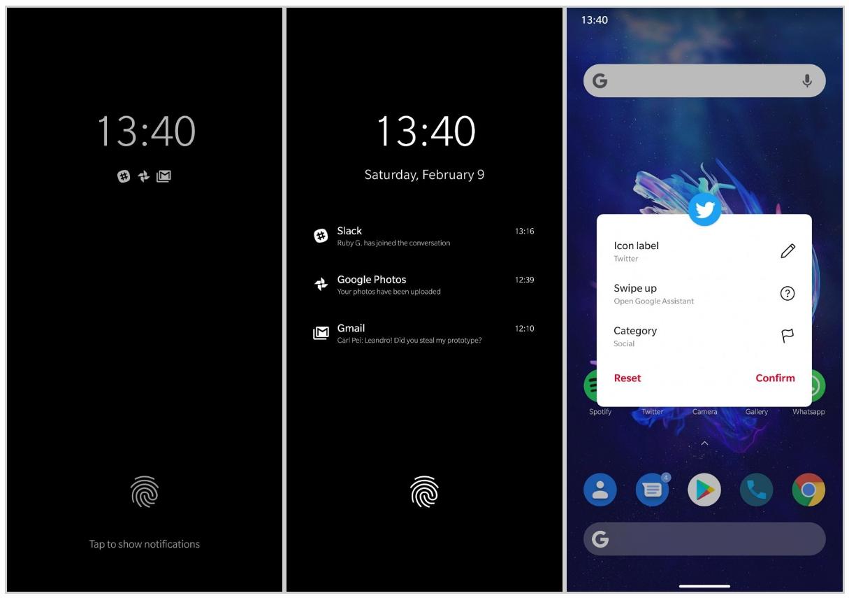 Prvý pohľad: OOS 10 na základe Android Q [Screenshot]