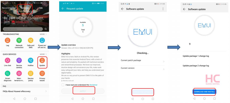 EMUI 9,1 Oficiálne teraz: Správy, zoznam podporovaných zariadení Huawei a súbory na stiahnutie 7