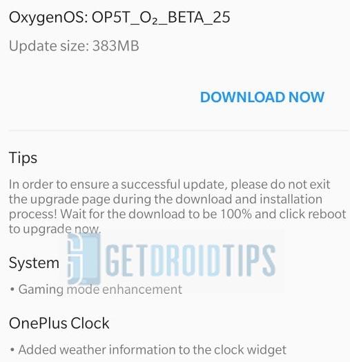 OxygenOS Open Beta 27