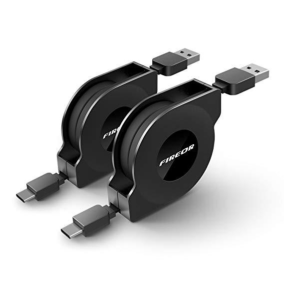 Fireor infällbar USB-typ C laddningskabel för iPad Pro