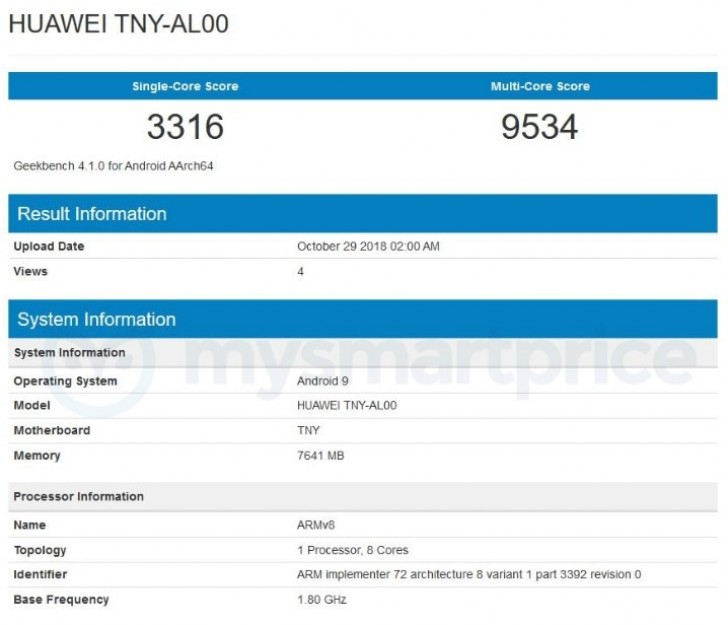 Huawei Honor Magic 2 objav v Geekbench pred oficiálnym zverejnením