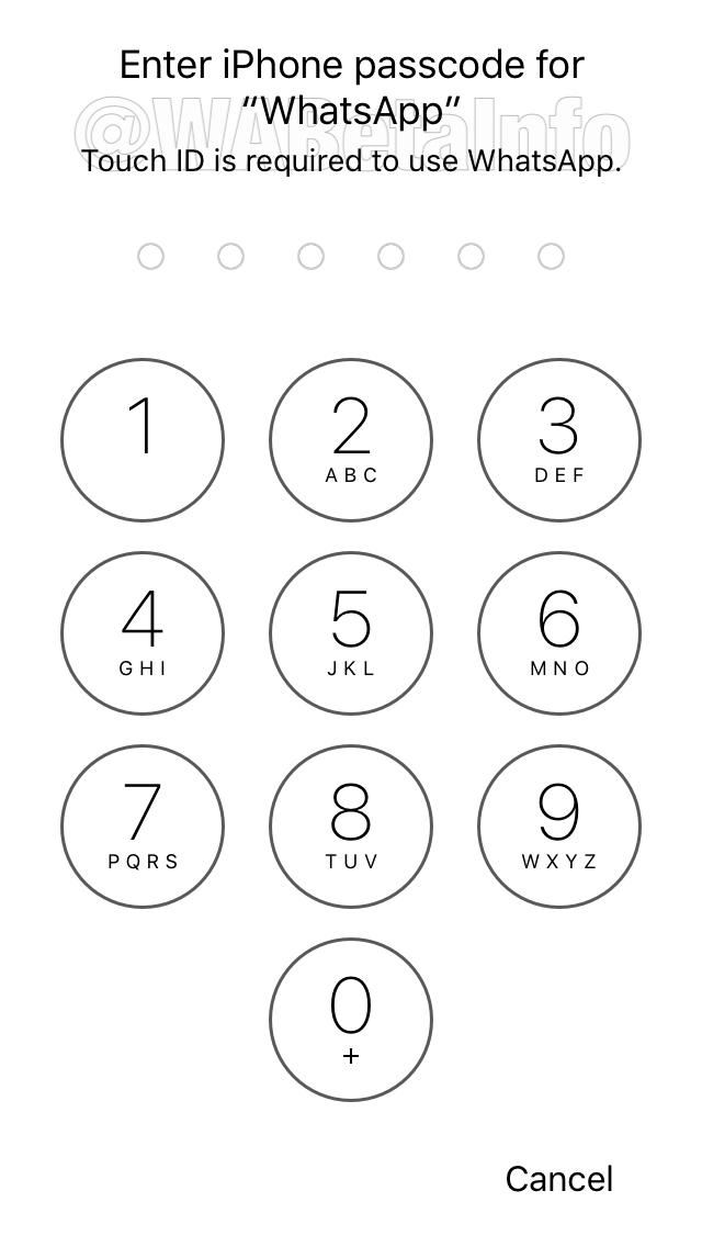 Podpora aplikácií Face ID a Touch ID pre WhatsApp bude čoskoro k dispozícii na iOS 3