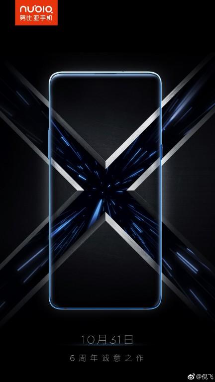 Dátum vydania produktu Nubia X je uvedený