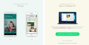 podporované platformy Whatsapp