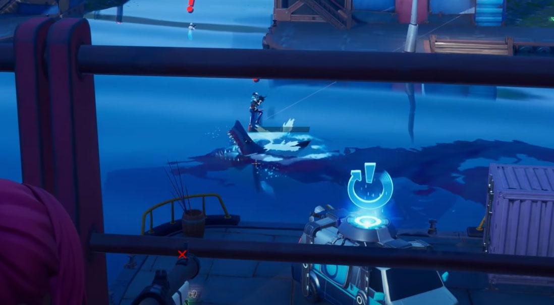 Kde nájdete oceán v Fortnite kapitola 2 sezóna 3 3