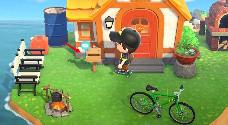 Animal Crossing: New Horizons - Hur flyttar du din brevlåda? 2