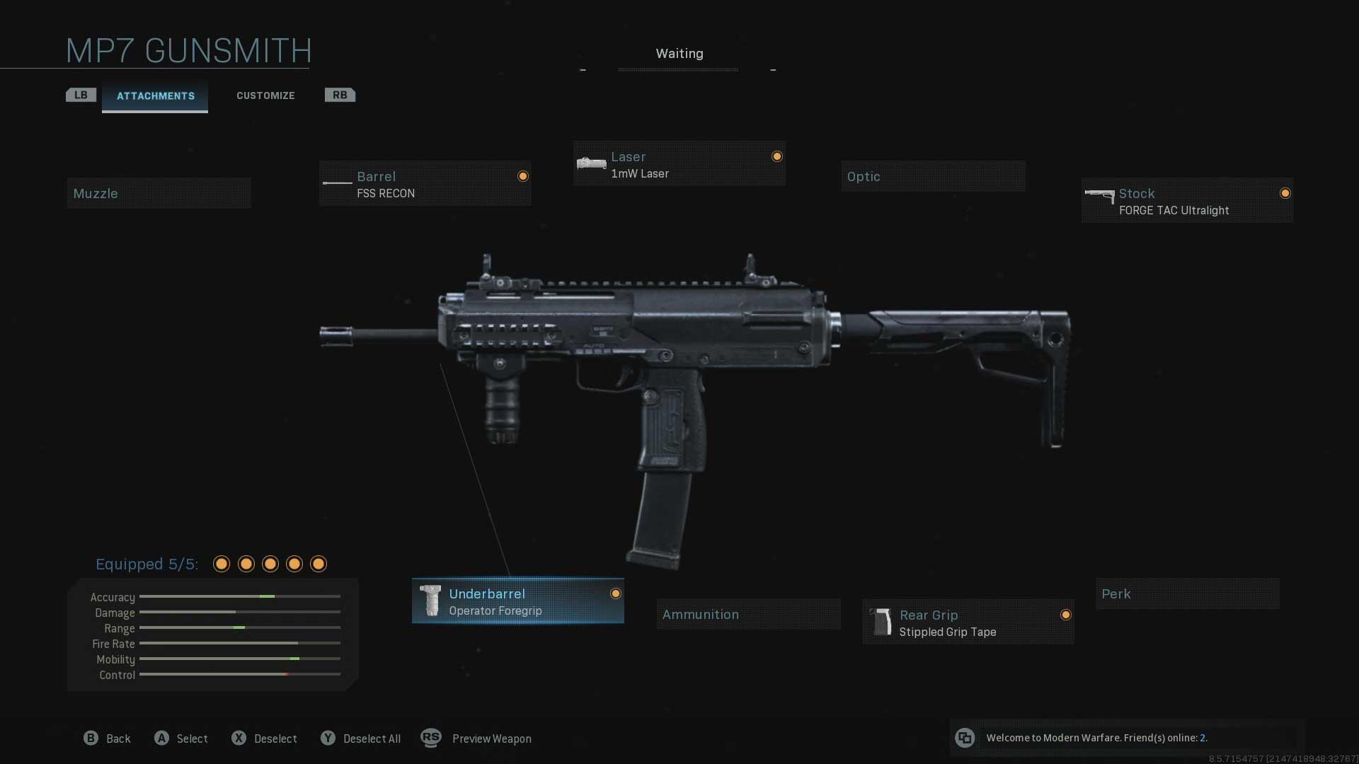 Najlepšie zaťaženie pre MP7 a M13 v Call of Duty Warzone 2