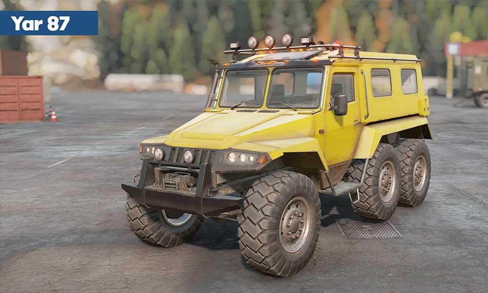 Najlepšie skautské vozidlo v SnowRunner