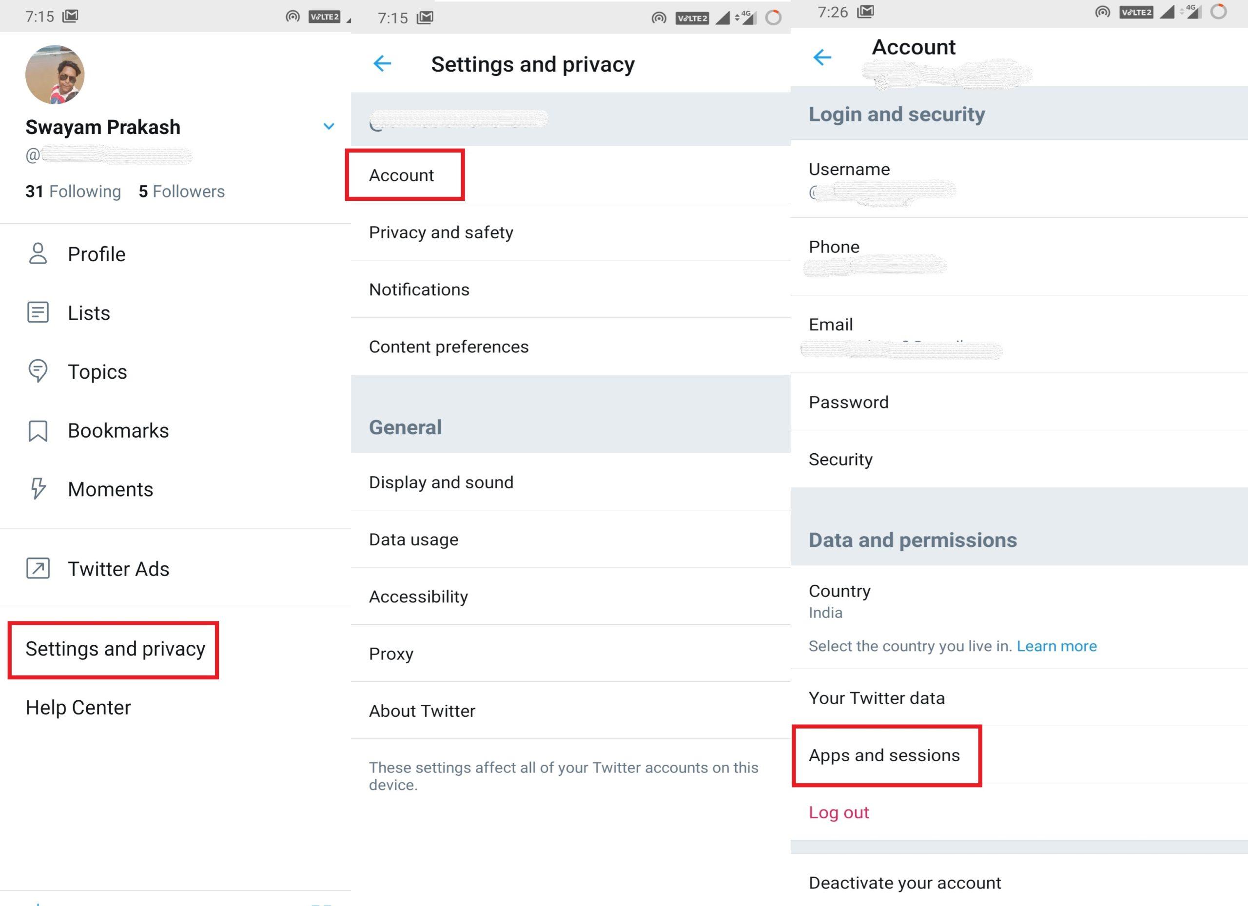 Odvolať prístup k aplikáciám tretích strán vo vašom Twitter účet