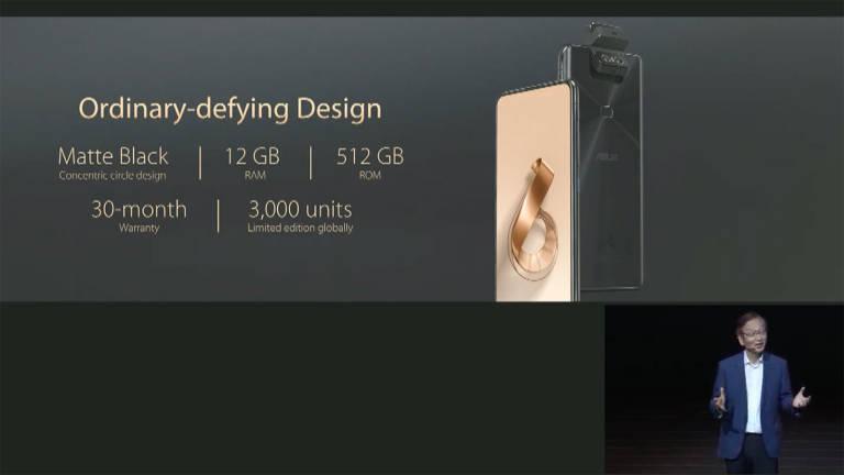 Spoločnosť ASUS oznamuje ZenFone 6 Vydanie 30:12 GB RAM a 512 GB vnútorná pamäť 1