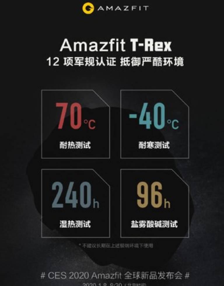 Amazfit T-Rex sú nové robustné inteligentné hodinky spoločnosti Huami 1