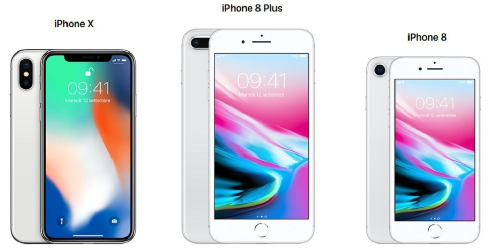 iPhone X iPhone 8 iPhone 8 Plus rozdiely 2