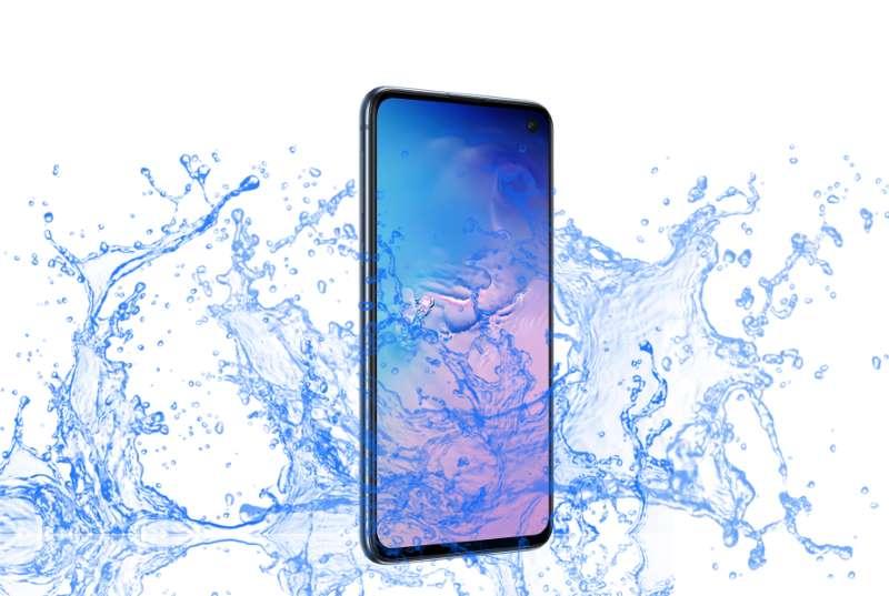 Je Samsung Galaxy S10E Vodotesná jednotka? 1